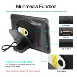 Car Audio Radio Video Multimedia DVD Player with USB/SD/FM/HDMI Functions