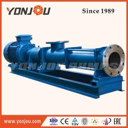 Textile Dyes Viscous Slurry Transfer Single Screw Pump/ Screw Pump for Waste Paper Slurry