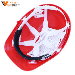 ABS Cheapest Price Industrial Electrical Types of Construction Safety Helmet