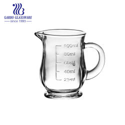 4oz Small Glass Measuring Jug for Kitchen Used (GB3001-7)