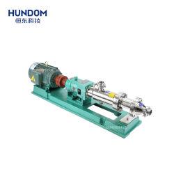 Stainless Steel Corrosive Chemical Mud Slurry Pump Eccentric Single Mono Screw Pump
