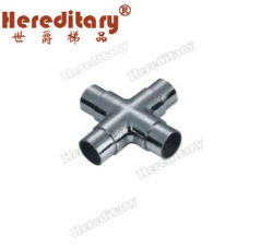 304/316 Stainless Steel Pipe Connector / Stair Accessories