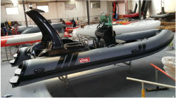 Inflatable Rib Boat, Sport Motor Boat, Fishing Boat Rib580b with CE Cert.