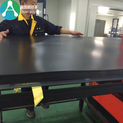 0.5mm Thick Recycled Material Plastic Black PVC Rigid Sheet Film for Cooling Tower