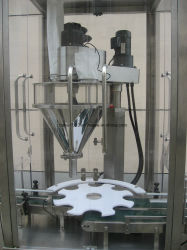 Rotary Auger Filling Machine with Checkweigher
