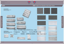 Ceramic Tile Mould for Mesh Printing Tile