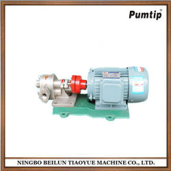Factory Supply Horizontal Chemical Stainless Steel Electric Liquid Nitrogen Pump The Gear Pump