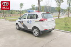 Electric Car Used as Police Car