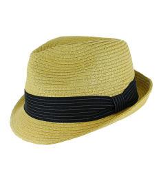 c37bae8988cd6 Custom Summer Man Fedora Cowboy Hat Paper Straw Hat