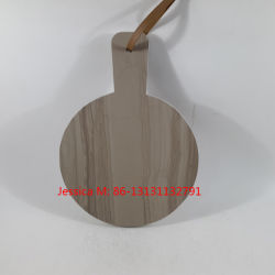 Wood Grain Veins Marble Stone Cheese Board /Marble Cutting Board/Marble Chopping Board