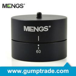 Mengs® Camera Time Lapse Pan for DSLR Digital Camera, 1/4 Inch Screw Mount Universal 360 Degree (14130000101)