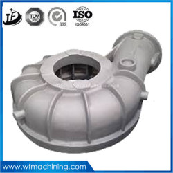 OEM Casting Industry Slurry Fluid Electric Centrifugal Water Pump Stainless Steel Pump Impeller Casting,