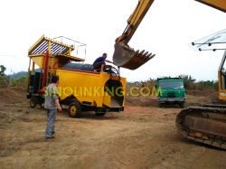 Mineral Processing Separator Gold Trommel Wash Plant