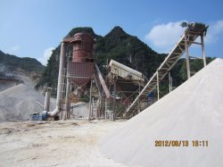 Dry Type Sand Making Plant with Separator for Sand and Gravel