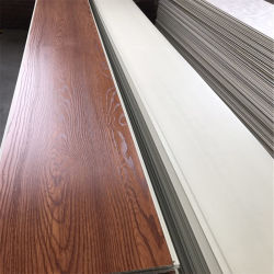 Wooden Color Laminated PVC Ceiling Plastic Wall Panel