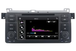 Car Radio System for BMW E46 with Bt/DVD/GPS Navigation