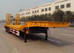 Low Bed Semitrailer Semi-Trailer Trailer Truck Trailer