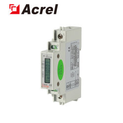 Adl10-E/C Digital Single Phase Mini Industrial Dedicated Subentry Measurement LCD DIN Rail Energy Meter Power Meter with RS485 Modbus for Distribution Cabinet