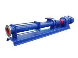 G High Viscosity Sewage Slurry Transfer Single Screw Pump