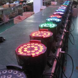 Stage RGBW 24X10W PAR 64 LED with Ce RoHS