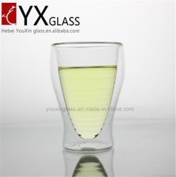 400ml Wholesale Custom Double Wall Glass Cup/Glass Cup/Cups & Saucers Drinkware Type and Eco-Friendly Feature Double Wall Glass Cup