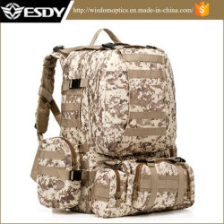 Tactical Camo Assault Combination Backpack for Hunting Camping Airsoft