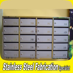 Residential Stainless Steel Mailbox Post Box