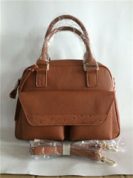 High Quality New Trendy Designer Ostrich Pu Leather Handbags