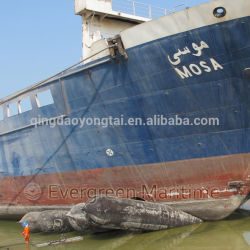 Ship Salvage Inflatable Floating Marine Airbags for Passenger Ship