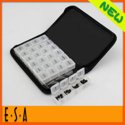 Wholesale Health Promotion Weekly 7 Days Pill Box Case Kit, Multifunctional Medicine Organizer Pill Box Kit for Home T07A113