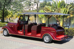 Hotel Special Using Electric Classic Car Ambassador 11 Passengers