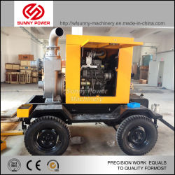 """Chinese Trolley Diesel Water Pumps 2""""Fire Fighting Equipment"""