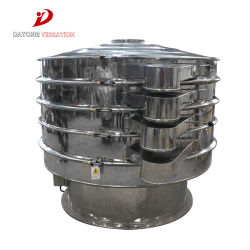 Professional Slurry Vibratory Sieve Machine for Food or Beverage