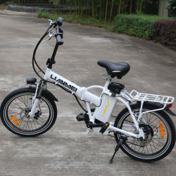 "Lianmei 20"" 250W Folding Electric Bike Sport Mountain Bicycle 36V Lithium Battery"