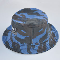 Custom Camouflage Cap Polyester Fishierman Hat Cotton Bucket Hat 2269500e4d10
