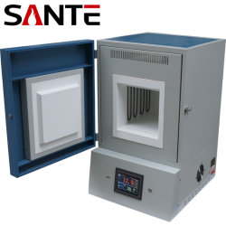 1400c 36liters High Temperature Electric Resistance Muffle Furnace for Heat Treatment