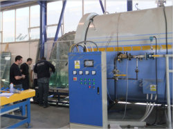 2850X6000mm Ce Approved Industrial Laminated Glass Machinery
