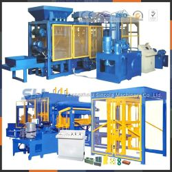 Feeding Convenient Full-Automatic Block Making Machine Price