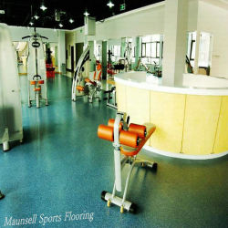 8 Color Types Rubber Gym Floor Surface