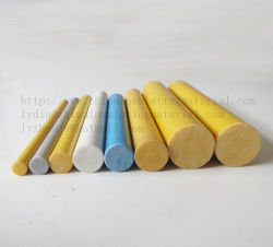 Fiberglass Round Rods/ Epoxy Pultrusion Fiberglass FRP Rod Insulation Material