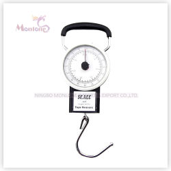 32KG Luggage Suitcase Scale with 1M Tape Measure Fishing Bag Weighing Dial Case
