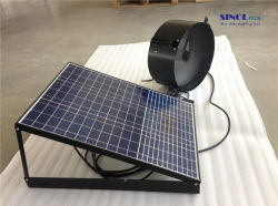 Garage Exhaust 40w Solar Ed Wall Mounted Fan With Built In Lithium Battery