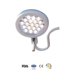 Mobile Operating Lamp 280mm Diameter Vet Vertical LED Surgical Light Examination Light