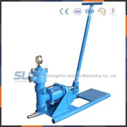 Hand Operated Hydraulic Pump for Cement Slurry Grouting Pump