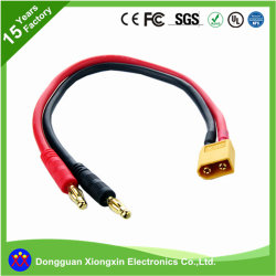 UL Factory Customize Flexible Silicone Rubber Cable High Temperature Booster Power ABC Wire PVC XLPE Electric Electrical Copper EC3 EC5 Harness