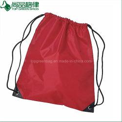 Manufacture Sports Shoe Packaging Waterproof Gift Nylon Polyester Drawstring Bag