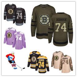 Men Women Youth Bruins Jerseys 74 Jake Debrusk Hockey Jerseys 4d6ef0b6f6