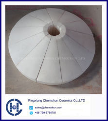 Wear Resistant Tile Lining as Ceramic Cone