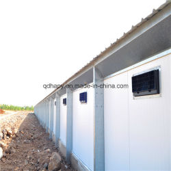 Full Set Fully Automatic Poultry Farm Machinery and Prefab Steel Structure Poultry House