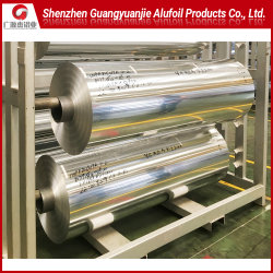 Aluminium/Aluminum Jumbo Roll Foil A8079/8011/1235/8111/1200/8021-O for Cap/Heat/Hot Seal/Lidding/Yogurt Lids/Dairy Packaging